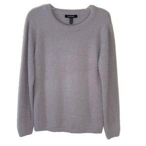 Ellen Tracy Downtown Glam So Soft Fuzzy Sweater
